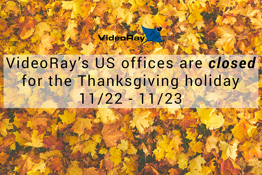 VideoRay Closed Thanksgiving 2018 SMALL