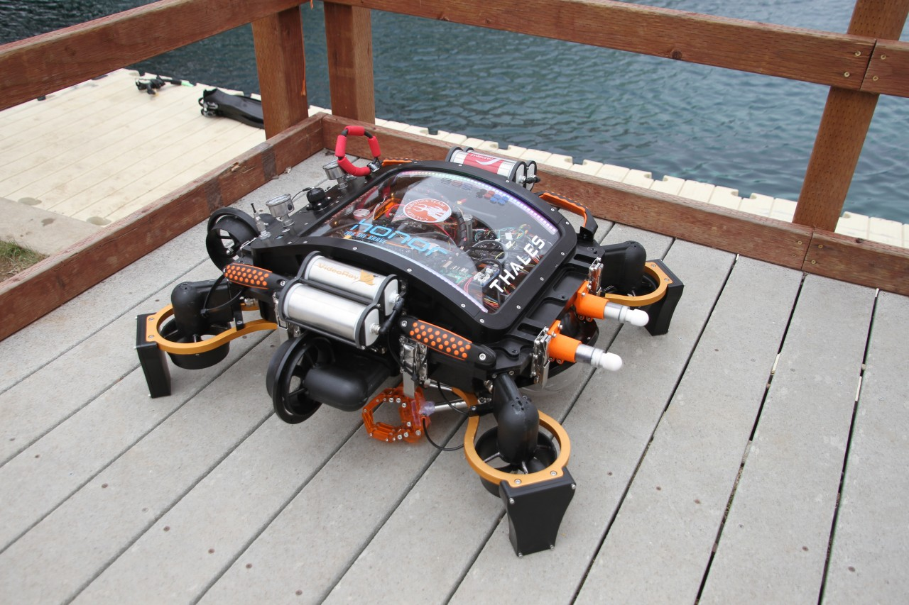 September 1, 2016 – California Institute of Technology Wins first prize at RoboSub Competition with Prototype VideoRay Thrusters