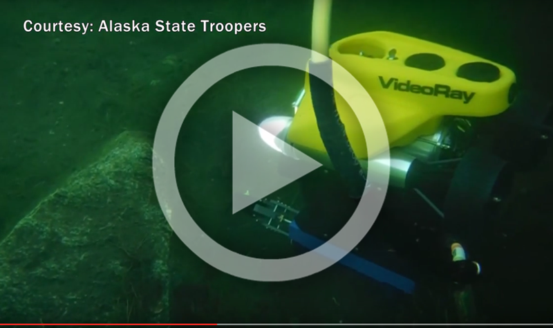 NOVEMBER 23, 2015 - Alaska State Police Acquires VideoRay Pro 4 Remotely Operated Vehicle System (VIDEO)