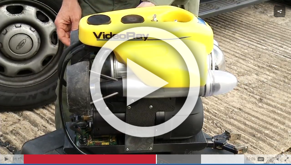 APRIL 5, 2016 - Tennessee Wildlife Resources Agency Uses VideoRay Pro 4 ROV to Search for Drowning Victim (VIDEO)