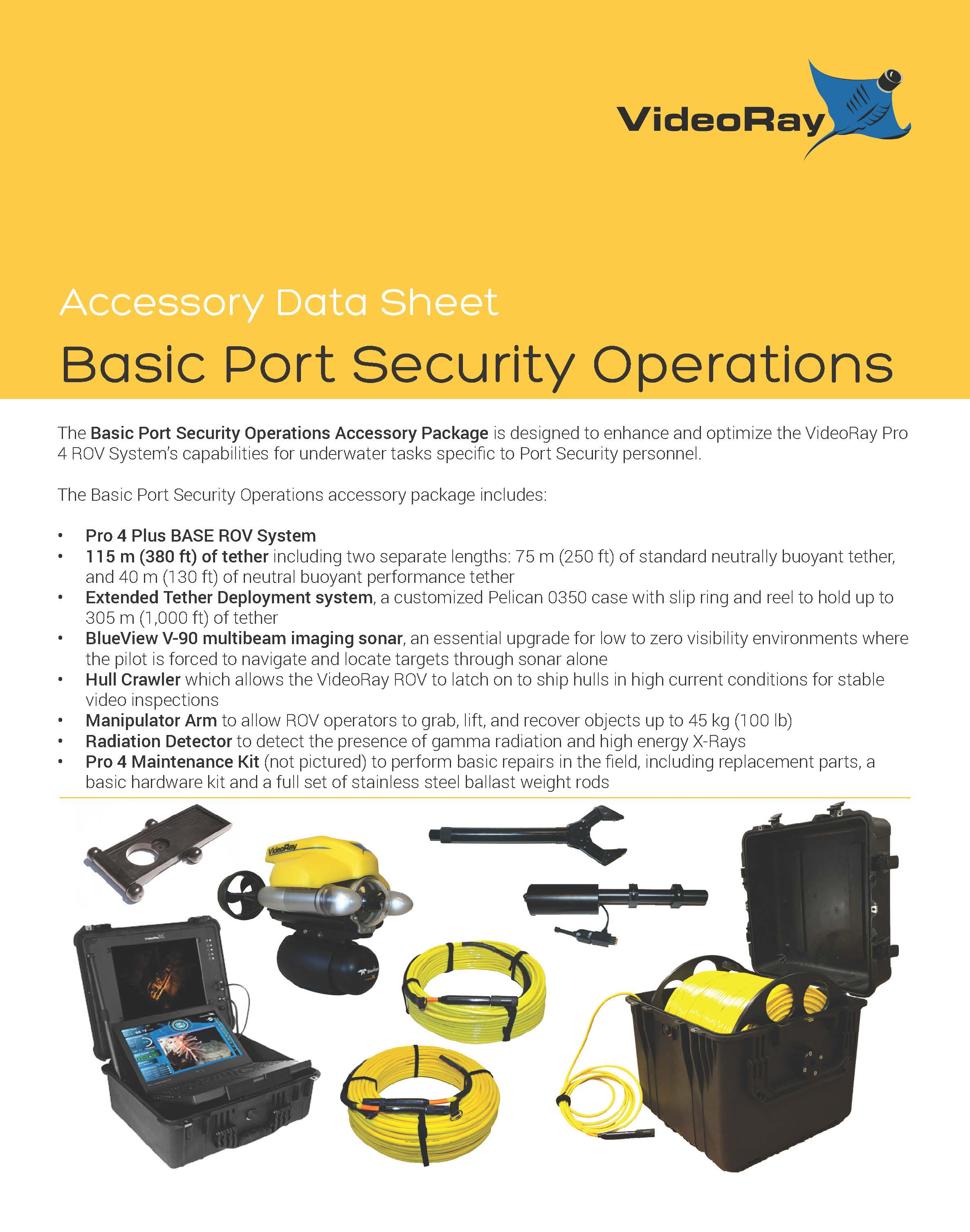 2019 BASIC PORT SECURITY OPERATIONS Page 1